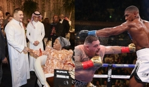Ruiz Jr Meets Joshua's Mother Ahead Of Rematch